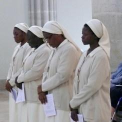 Sr Yvette, sr Véronique de la Sainte Face, sr Céline, sr Bertha