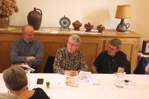 Père Olivier Prestavoine, Sr Maria-Luisa, Monseigneur Louis