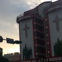 Fachada de Igreja na China
