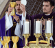 Padre Evandro e Padre Leandro celebram a Missa