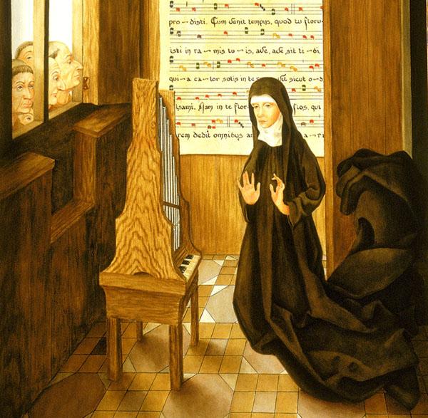 Imagem de Santa Hildegarda