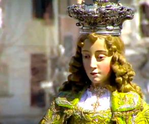 Maria Santíssima correndo? Isso acontece na Espanha