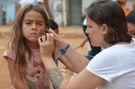 atividade com crianças