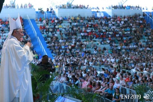 Dom Alberto Taveira faz pregação