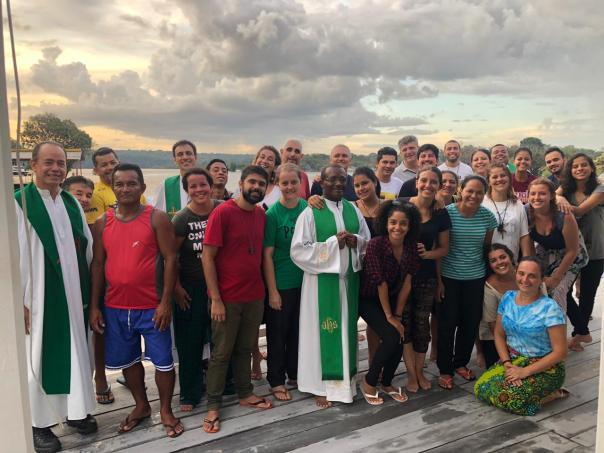 Equipe da Missão Duc in Altum 2019.