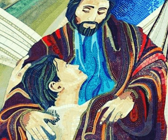 Mosaico do Pai misericordioso