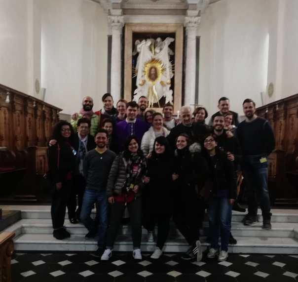 Jovens do TK de Roma