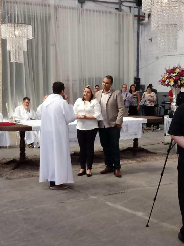 Padre Custódio fala aos responsáveis do Grupo Silvas