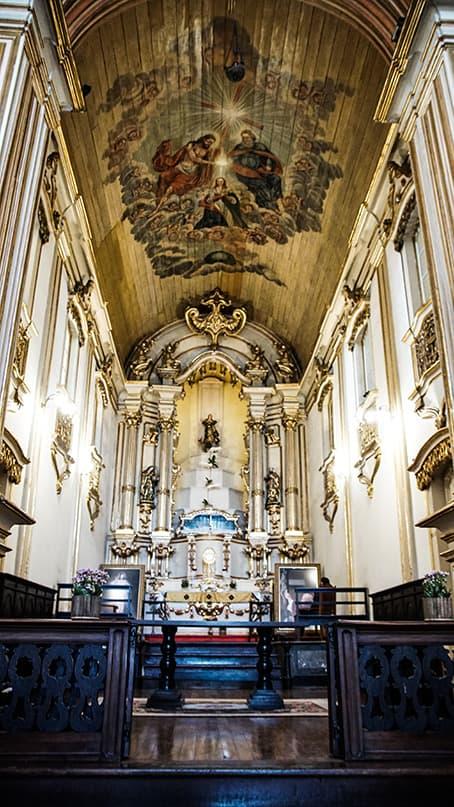 Visão geral da Igreja Nossa Senhora da Boa Morte.