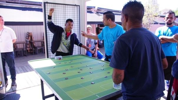 Competição de futebol de botão