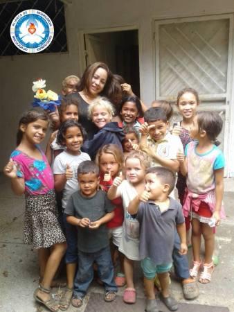 Ação Missionária junto às crianças-Venezuela