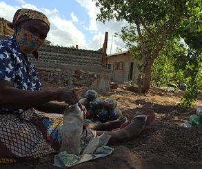 Projeto de Bioconstrução em Moçambique/África