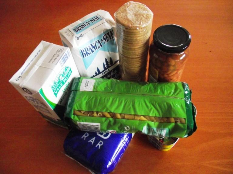 Alimentos para os mais necessitados