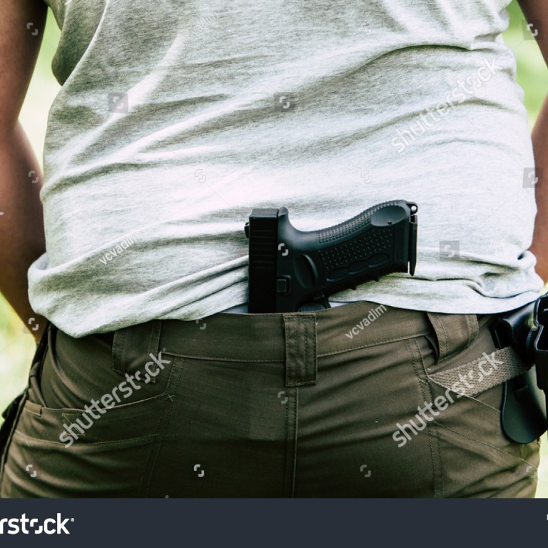 You Have A Holster, But You Stick Your Gun In Your Pants? Oh Wait, The Holster Is A Serpa. Nevermind.