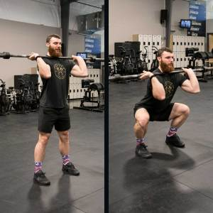 Front Squat Template | Misfit Athletics | Programming for