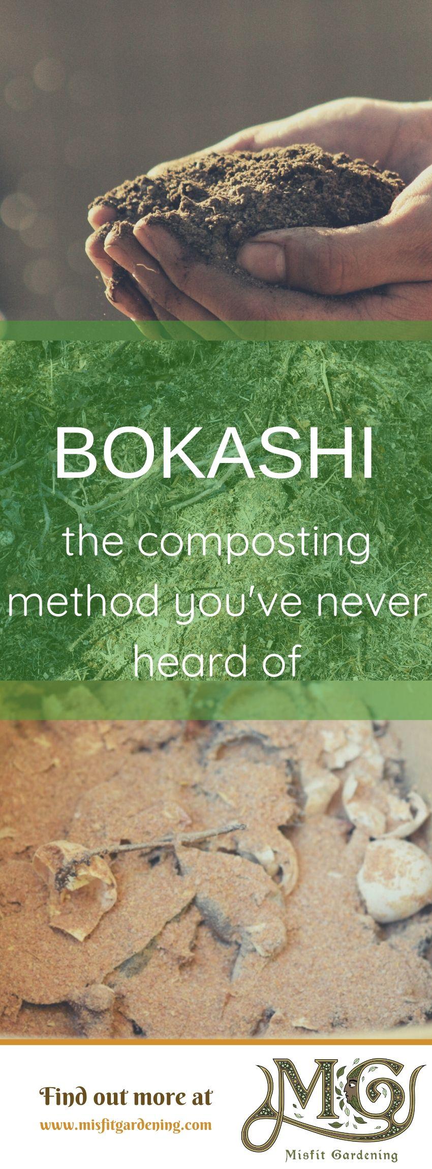 Erfahren Sie, wie Sie mit Bokashi noch mehr kompostieren können. Klicken Sie hier, um mehr über die Bokashi-Kompostierung zu erfahren, oder speichern Sie sie für einen späteren Zeitpunkt. #gardening #nongmo #homestead