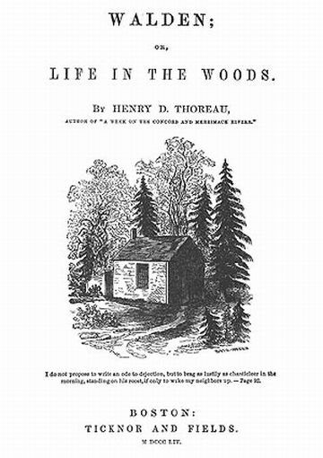 "simplify thoreau essay At the time of this letter's writing, henry david thoreau had completed his  experiment  and published his first essay, ""ktaadn,"" about a hiking trip in maine  later that year  so simplify the problem of life, distinguish the necessary and the  real."