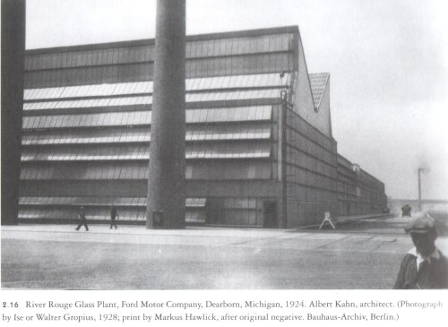 Albert Kahn ford factory 1924