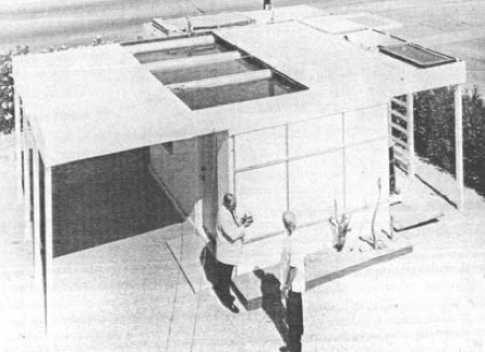 first skytherm test building