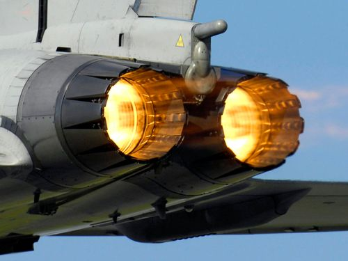 A_Typhoon_F2_fighter_ignites_its_afterburners_whilst_taking_off_from_RAF_Coningsby_MOD_45147957