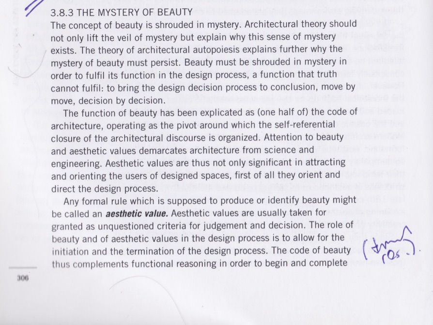Attention To Beauty And Aesthetic Values Demarcates Architecture From Science Engineering