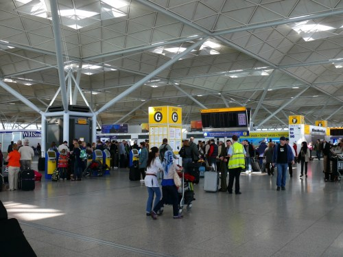 London_Stansted_Airport_Terminal