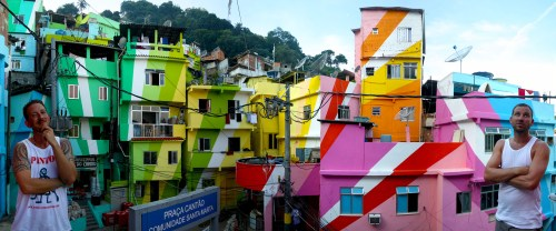It articulates a different discourse of social change; of engagement, contributing to improve life for favela dwellers.