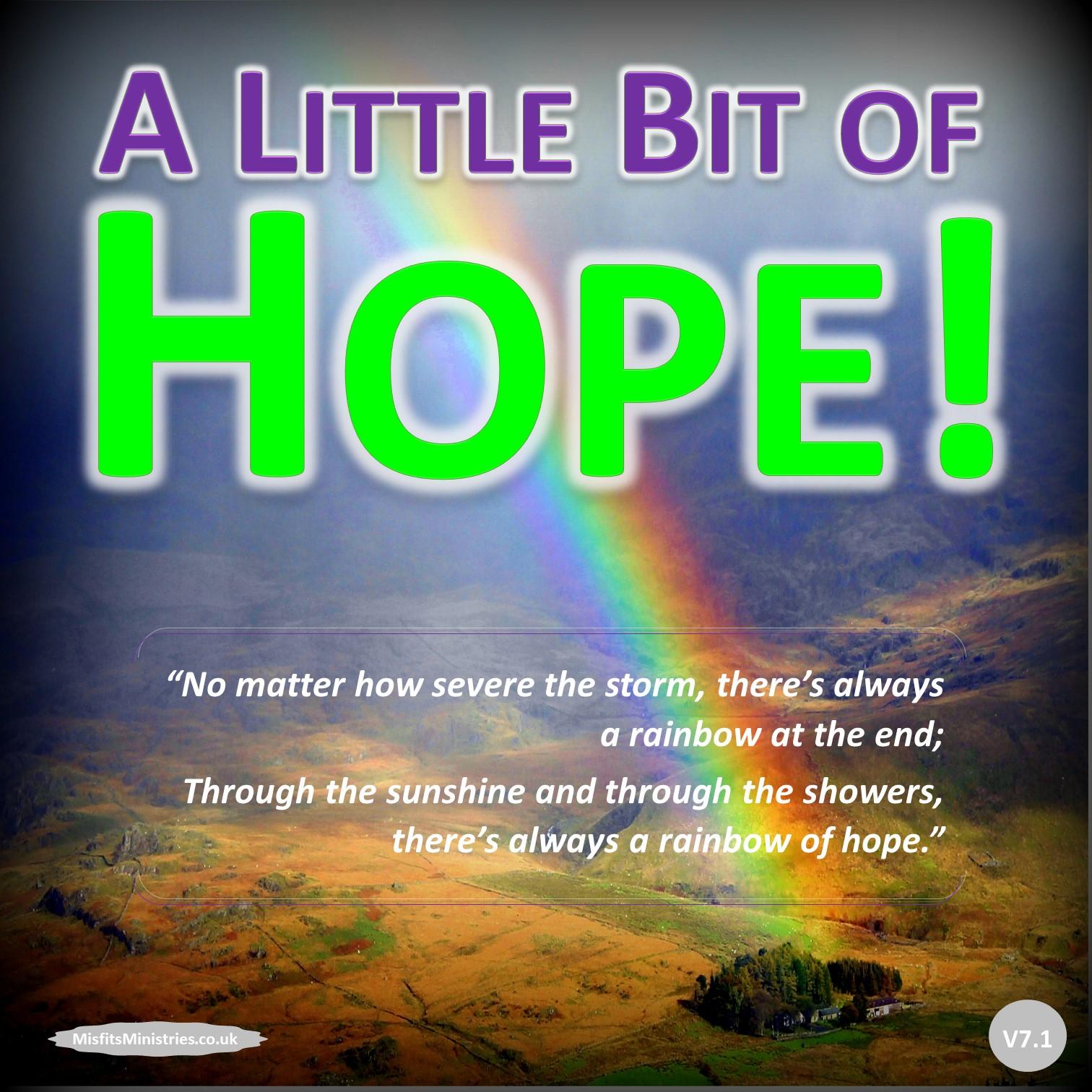 A Little Bit of Hope! - pdf version