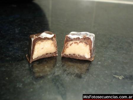 Como hacer bombones de chocolate