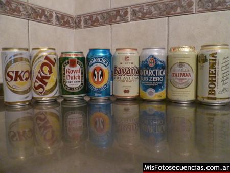 Cervezas varias de Brasil