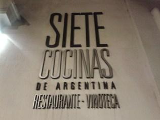 Siete cocinas de Argentina