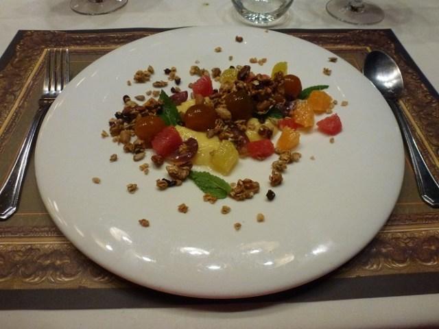 Sibaris Restaurante: postre.
