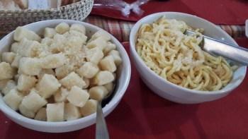 Pastas en Fertilia, Colonia Caroya