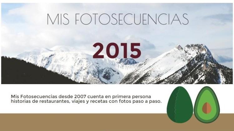 Mis Fotosecuencias: resumen de 2015