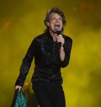 Mick Jagger hablando del choripán