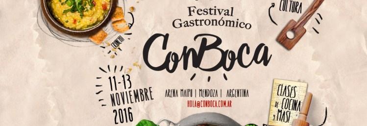 Festival gastronómico ConBoca en Mendoza