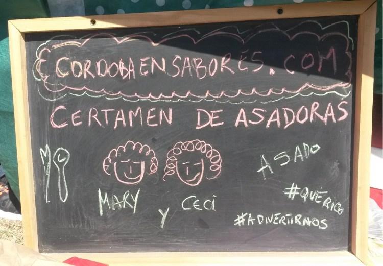 Tercer Certamen Nacional de Asadoras en El Manzano