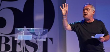 Ferran Adrià en los 50 Best Talks