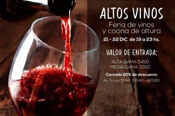 Altos vinos en Lo de Villalpando