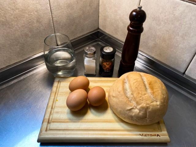 Huevo frito sin aceite