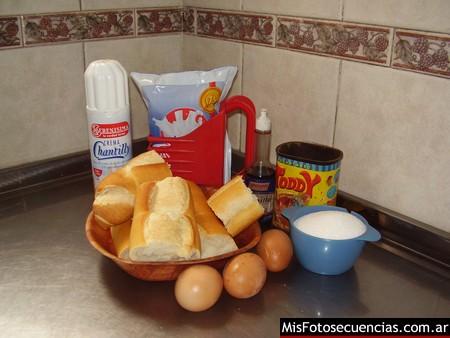 Receta de budin de pan en la Essen