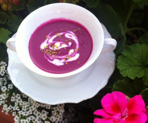 Purple Passion Soup - Misha Almira