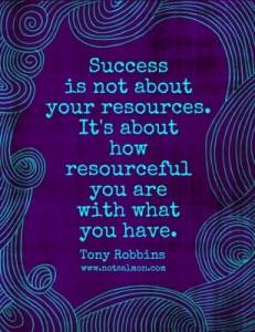 Success is not about your resources- Misha Almira