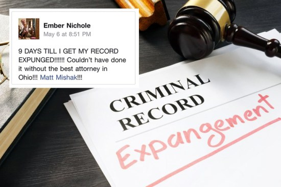 Mishak Law North Ridgeville Ohio Record Expungement