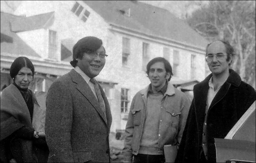 Olive Colon, Chögyam Trungpa Rinpoche, Karl Springer and Jeremy Hayward - Tail of the Tiger, Winter 1972-73