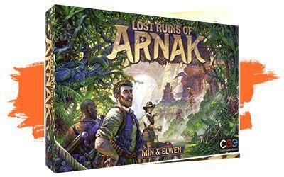 Lost Ruins of Arnak - euros medios SPIEL