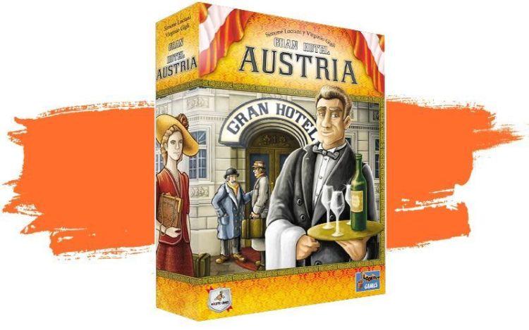 Grand Austria hotel - juego de mesa