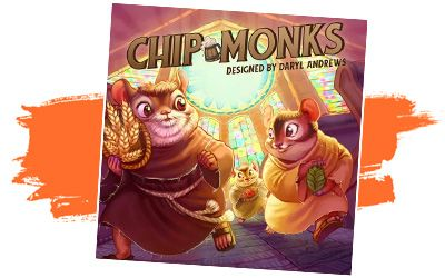 Chip & Monks juego de mesa