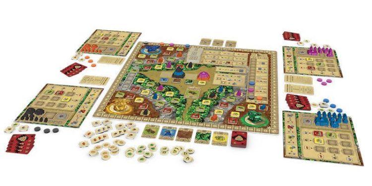 Zapotec Board & Dice