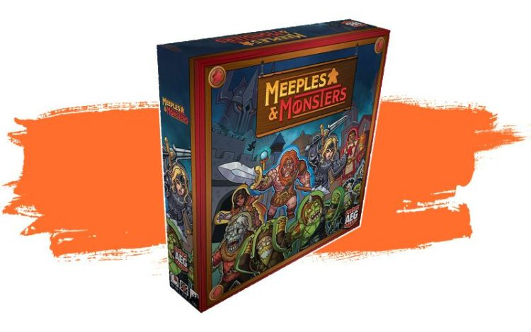 Meeples and Monsters caja